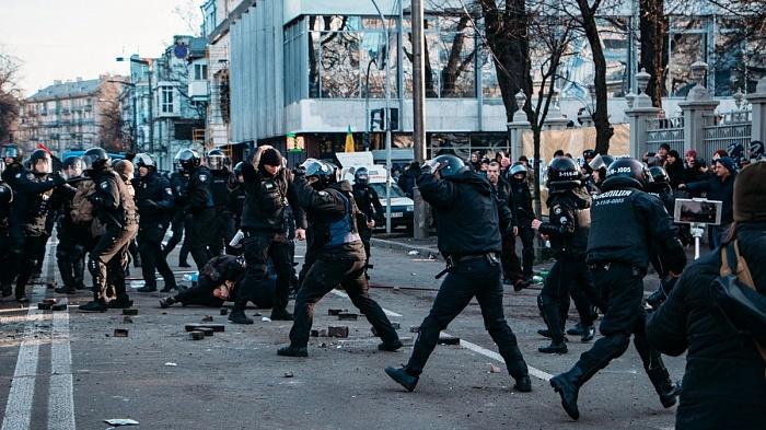 Киев: протесты и стычки